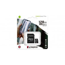 Kingston Canvas Select Plus microSDXC 128GB Class 10 U1 V10 A1 + Adapter