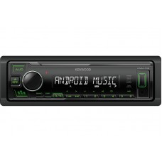 Kenwood KMM-105GY Digital Media Receiver with Front USB & AUX Input.