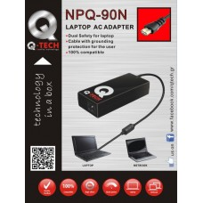 NB POWER 90W Q-TECH NPQ-90N AUTO (4PIN) [UNIVER1014]